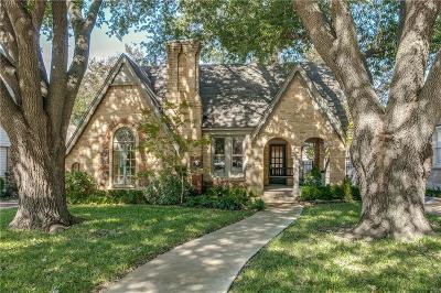 Single Family Home For Sale: 5343 Monticello Avenue