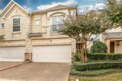 Irving Townhouse For Sale: 2520 Champagne Drive
