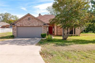 Azle Single Family Home Active Option Contract: 2008 Wood Trail