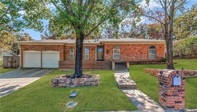 Bedford Single Family Home Active Option Contract: 824 San Marcos Lane