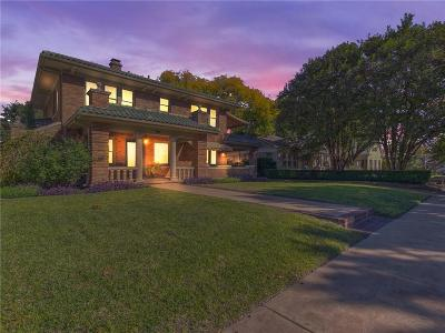 Fort Worth Single Family Home For Sale: 2008 Pembroke Drive