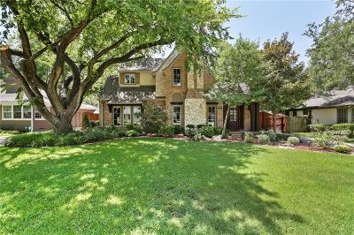Dallas County Single Family Home For Sale: 6510 Woodland Drive