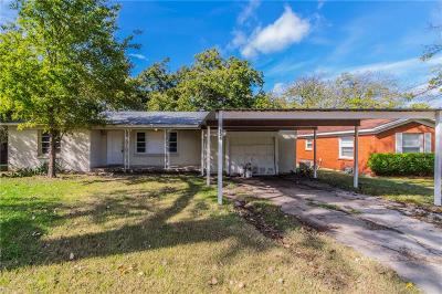 White Settlement Single Family Home For Sale: 604 Odie Drive