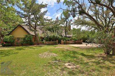 Abilene Single Family Home For Sale: 1950 Willow Drive