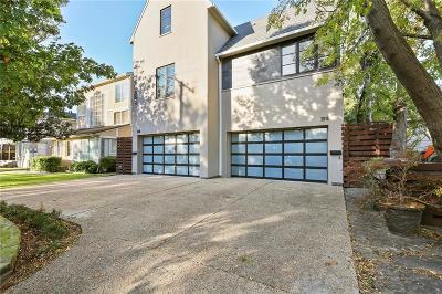 Dallas County Half Duplex For Sale: 3616 N Fitzhugh Avenue