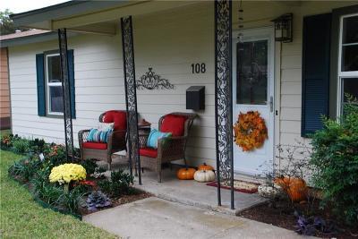 Burleson Single Family Home For Sale: 108 NE Murphy Road