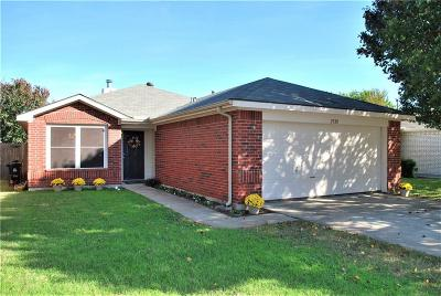 Denton Single Family Home Active Option Contract: 2320 Southway