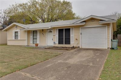 Euless Single Family Home For Sale: 601 Milam Drive