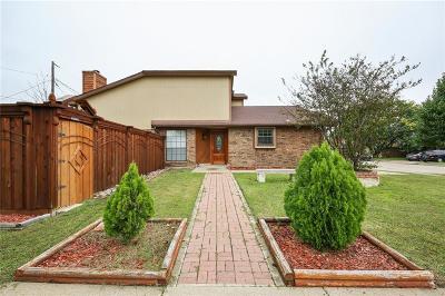 Arlington Single Family Home Active Option Contract: 601 Oakland Hills Drive