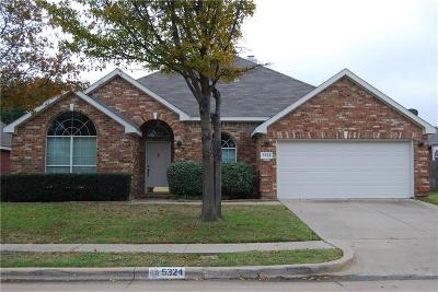 Single Family Home Active Option Contract: 5324 Rush Creek Court