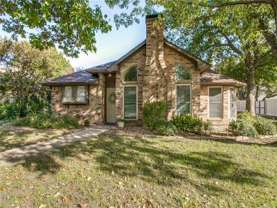 Flower Mound Single Family Home Active Option Contract: 1113 Timber Valley Drive