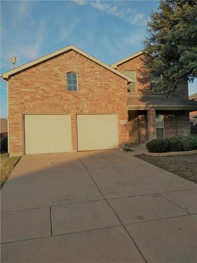 Forney Single Family Home Active Option Contract: 1008 Trickham Drive
