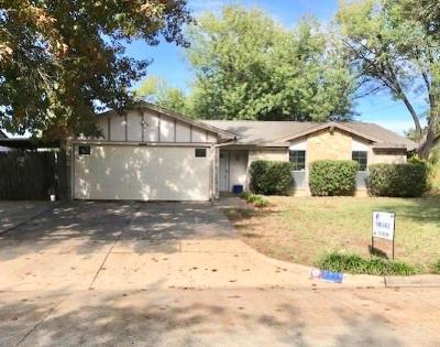 Grand Prairie Single Family Home Active Option Contract: 2414 Wilmer Drive