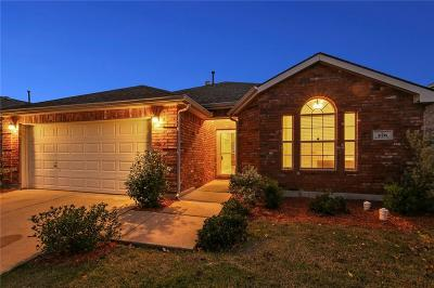 Little Elm Single Family Home Active Option Contract: 476 Willowlake Drive