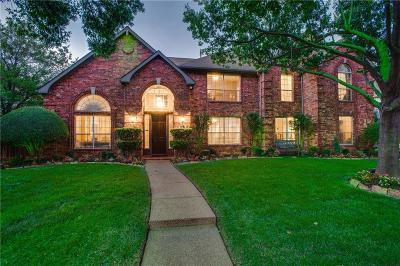 Plano TX Single Family Home Active Option Contract: $595,000