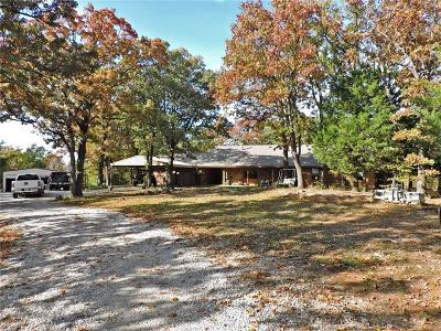 Denison Single Family Home Active Option Contract: 699 Starr Road