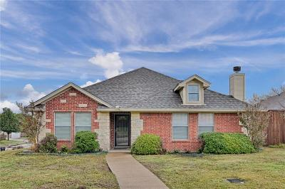 Midlothian Single Family Home Active Option Contract: 834 Mr Haney Drive