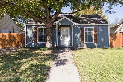 Grand Prairie Single Family Home For Sale: 1530 Pine Street