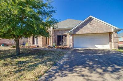 Wylie Single Family Home Active Option Contract: 109 Goldenrain Drive