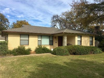 Richardson Single Family Home For Sale: 606 Northill Drive