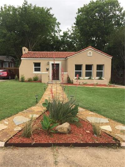 Single Family Home For Sale: 811 Kidd Springs Drive