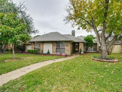Plano Single Family Home Active Option Contract: 3604 Wandering Trail