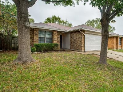 Arlington Single Family Home Active Option Contract: 201 Caprock Drive