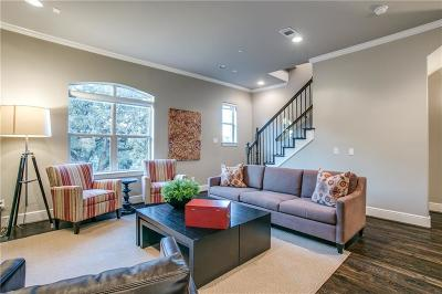 Dallas, Fort Worth Townhouse For Sale: 3245 Hugo Place