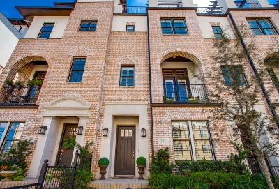 Irving Townhouse For Sale: 751 Will Rice Avenue