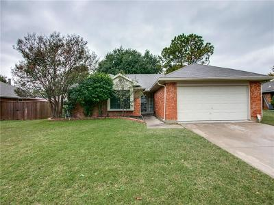 Corinth TX Single Family Home For Sale: $225,000