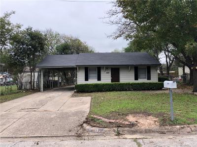 White Settlement Single Family Home For Sale: 584 Joy Drive