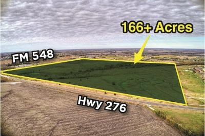 Rockwall County Farm & Ranch For Sale: Fm 548 And Hwy 276