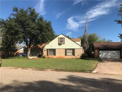 Abilene Single Family Home For Sale: 1461 Minter Lane