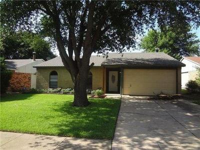 Allen TX Single Family Home For Sale: $199,995