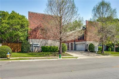Dallas Condo For Sale: 5803 Ross Avenue #D