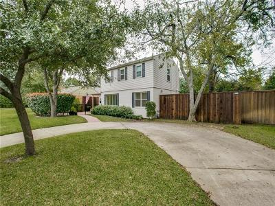 Dallas County Single Family Home For Sale: 4734 Elsby Avenue