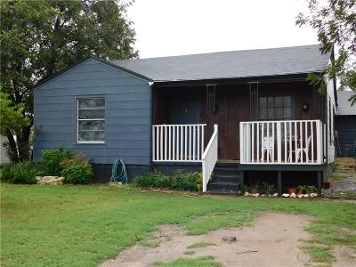 Brownwood Single Family Home For Sale: 107 Bluffview Drive