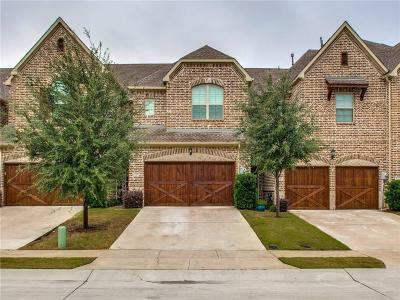 Lewisville Townhouse For Sale: 113 Preserve Place