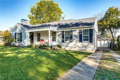 Single Family Home For Sale: 6335 Malcolm Drive