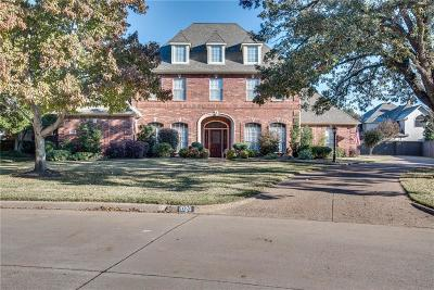 Southlake Single Family Home Active Option Contract: 1020 Highland Oaks Drive