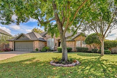 Mansfield Single Family Home Active Option Contract: 6 Waterwood Court