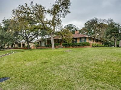 Dallas County Single Family Home For Sale: 11606 Saint Michaels Drive