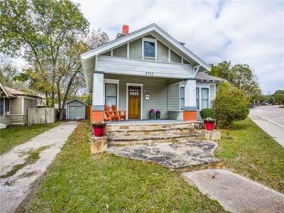 Dallas Single Family Home For Sale: 5733 Victor Street