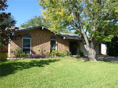 Lake Dallas Single Family Home Active Contingent: 5513 Pawn Court