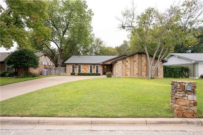 Benbrook Single Family Home Active Option Contract: 8612 Edgebrook Terrace