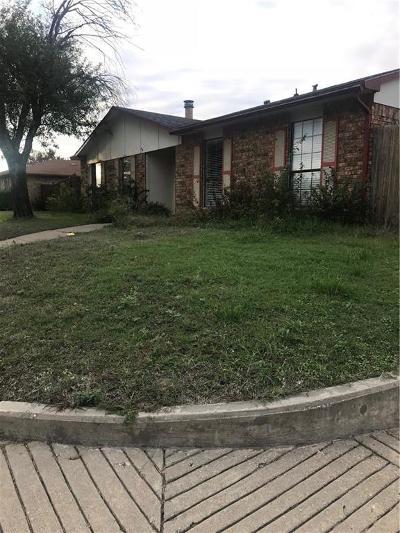 Dallas Single Family Home For Sale: 7503 Christie Lane