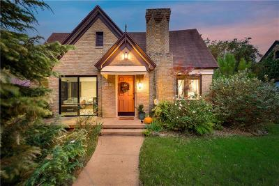 Dallas Single Family Home For Sale: 2712 Catherine Street