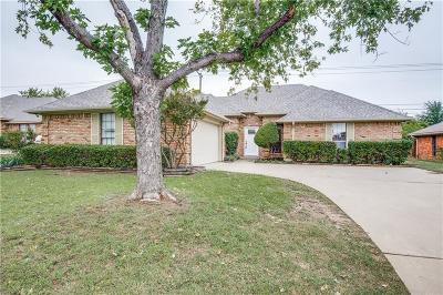 Frisco Single Family Home Active Option Contract: 8148 Bobwhite Drive