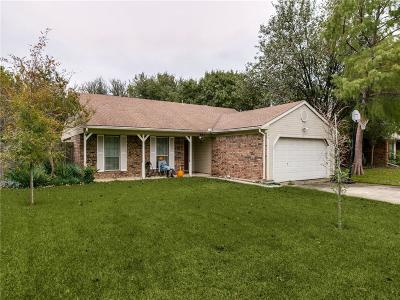Grapevine Single Family Home Active Option Contract: 867 E Riverside Drive