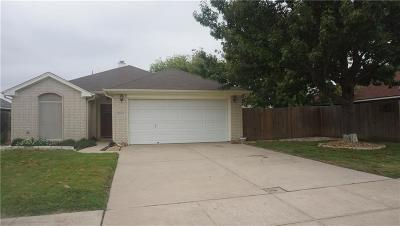 Haltom City Single Family Home Active Option Contract: 3553 Tommy Watkins Drive